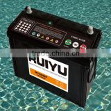 SMF battery for sale 12v96ah Din standard car battery / europen standard auto battery made in China