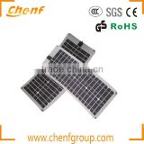 Flexible Amorphous Silicon Solar Panel Light Weight For Easier Carry