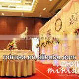 2015 RP Used pipe and drape for large banquet halls with fabric drape,wedding pipe and drape