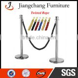 Stainless Steel Stanchion With Ropes JC-LG03