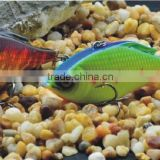 high quantity plastic hard fishing lure of vibe-rattle