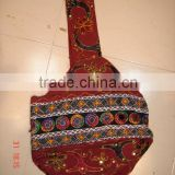 2014 hot sale direct factory ethnic beautiful bohemian shoulder bags patch work bags indian ethnic shoulder bag