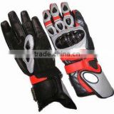 leather motorcycle racing glove , custom motorbike leather racing gloves , New 2014 Motorbike Leather Racing Gloves, High Qualit