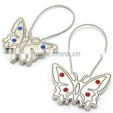 Butterfly Keychain, Metal Butterfly Keychain For Lover