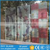 High Quality Printed Glass Partition Borosilicate Glass Sheet