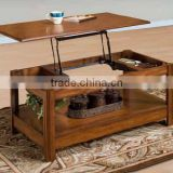 Lifttop Table European Style Coffee Table Center Table Simple Style