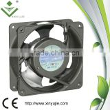 xinyujie 120mm 38mm Cooling Case Fan 110V 115V 120V AC 110 CFM 2 Pin cheap loose Ball Bearing