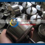 stainless steel 316L V wire filter nozzles strainer for resin water treatment manufacturer