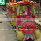 Best Sale Outdoor Amusement Ride Kids Train, Professional Kids Amusement Park Track Train Manufacturer