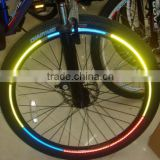 Motorcycle Bicycle Reflective Wheel Rim Sticker Tape 4 color