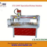 CX-1200Y Specialized Cylinder Carving Machine, Distributors Wanted Cylinder Carving Machine,Rotary Wood Carving Machine