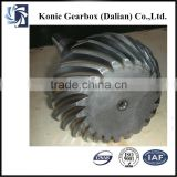 China industrial heavy torque bevel gear for concrete mixer for sale with reasonable price