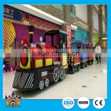 Amusement Equipment Kiddie Ride Theme Park trackless sightseeing train ride fairground ride for sale