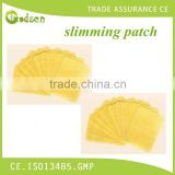 Effective natural weight loss herbal slim patch, acupuncture point therapy slimming patch