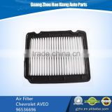 auto spares parts air filter Chevrolet AVEO 96536696