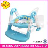 DEFA baby potty baby closestool Hot sale Europe Quality 3-in-1 foldable plastic baby potty/toilet trainer portable baby potty