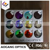 hot selling high quality CR39 1.499/1.56 color lens made in china