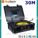 Hot Sale Self Leveling Camera Head CCTV Sewer Inspection Camera With DVR Sewer Camera For Sale-20/30M