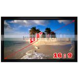 "Top quality 120"" inches Motorized Projection screen 16:9 Wide Screen Electric window Screen"