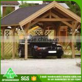 Cheap price prefab wooden luxury carport with good quality