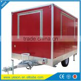 Factory Supply YS-FV350D Mobile Ice Cream Cart, Customized Logo Street Fast Food Cart/ Fast Food Trailer/ Fast Food Truck
