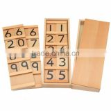 Wooden Mathematics teaching aid montessori Segen board