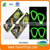 glow stick glasses liquid party pack in the dark