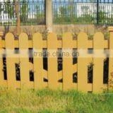 High Quality Decorative garden fencing Easily Assembled WPC fence Wood Plastic Composite Garden Fence Panel
