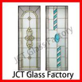 4mm-40mm Mosaic stained glass piece from Chinese art glass design