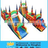 New Inflatable castle obstacle course/interactive playground game