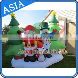 Hot Sale Inflatable Christmas Decoration / Inflatable Santa Claus