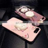 china suppliers cheap and high quality 3D Funny Cute Silicone squishy phone case