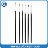 Art Paint Brushes Set – 6 Pc Short Handle Set