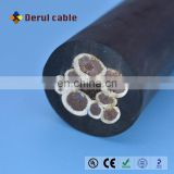 Deep well lifting submersible pump cable