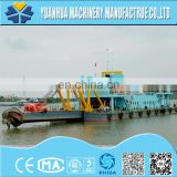 cutter suction dredger with amphibious excavator