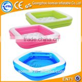 Pink outdoor inflatable mini swimming pool for kids, inflatable water pools for kids