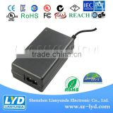 4 pin din adapter 15V 5A Power Supply 75W made in shenzhen factory with CE UL GS SAA KC PSE certification