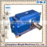 H/B Serial Helical / Bevel Transmission Gear box Parts With Electric Engine motors for synchronizer sewing