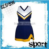 High Quality Cheer Leader One Piece Dance Costume Plus Size Sleeveless Cheerleading Uniform