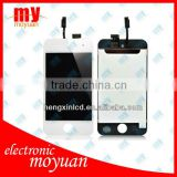 for ipod touch 4 lcd digitizer black and white color replacement