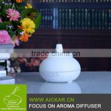 Aickar aroma diffuser supplier 300ml Aroma Air Diffuser Fashion Essential Oil Ultrasonic Diffuser with LED Lights