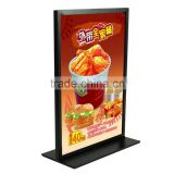 Metal Table White Poster Stand Poster Display Banner Stand Sign Stand A4 Tabletop Display                                                                         Quality Choice