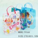 2013 new style paper shopping bag brand name, paper shopping bag with logo,flower printing shopping bag