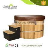 Factory direct wholesale 1 person indoor Eletrical spa hot tub