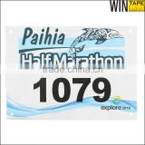 Marathons/Road Races/Track and Field Competitions Original customized Tyvek Race Bib Numbers