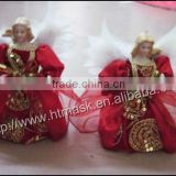 Christmas gifts in red cloth decorated Christmas Angel Christmas decoration small ornaments 14''