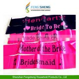 8pcs BRIDE TO BE SASH GIRLS NIGHT OUT Hen Night Party Garter WILLY STRAW Wedding