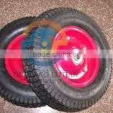 rubber wagon wheel, 4.50-8 rubber wheel