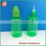 50ml green plastic dropper bottle for e liquid nicotine                                                                         Quality Choice