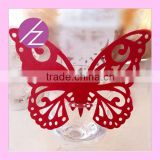 Thanks card wedding paper craft table wedding decoration paper butterfly JK-52 Haoze brand